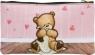 Piórnik Owalny Popcorn Bear Bow