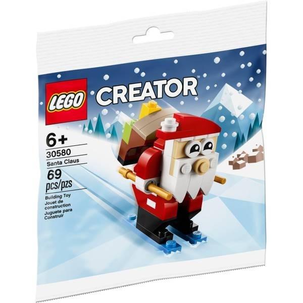 Klocki Creator 30580 Święty Mikołaj na nartach (30580)