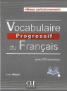 Vocabulaire progressif du français Niveau perfectionnement  książka + płyta CD audio