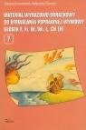 Materiał wyrazowo-obrazkowy do utrwalania poprawnej wymowy głosek f, fi, w, Krzysztoszek Grażyna, Piszczek Małgorzata