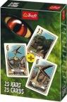 Karty Piotruś Dinozaury 1x25 listków (08454)
