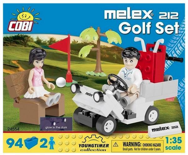 Youngtimer Collection: Melex 212 Golf Set (24554)