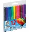 Pisaki Friends fibre pens, 12 kolorów (160-1382)