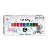 Plastelina Starpak, 12 kolorów - Cuties koty (429681)