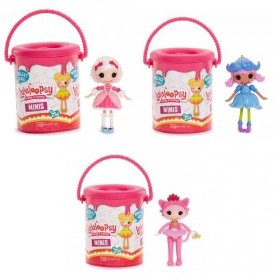 Lalaloopsy Mini - Lalka niespodzianka w pojemniku