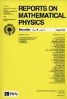 Reports on Mathematical Physics 78/1 2016