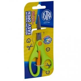 Nożyczki Astra Easy Open - zielone (456648)