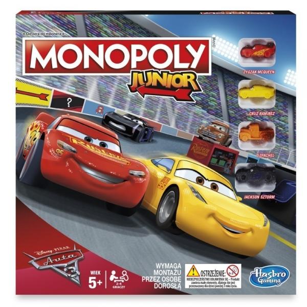 Monopoly Junior Auta 3 (C1343)