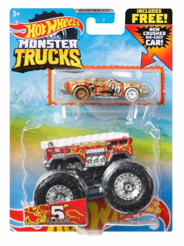 Pojazdy Monster Truck 2-pak Alarm czerwony (GRH81/GYL90)