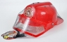 Hełm strażacki plastikowy