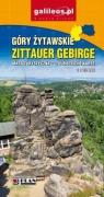 Mapa turystyczna - Góry Żytawskie w.pol-niem praca zbiorowa