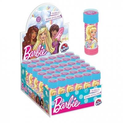 Bańki mydlane Barbie 55ml (36szt)