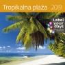 Kalendarz wieloplanszowy Tropikalna plaża 30x30 2019