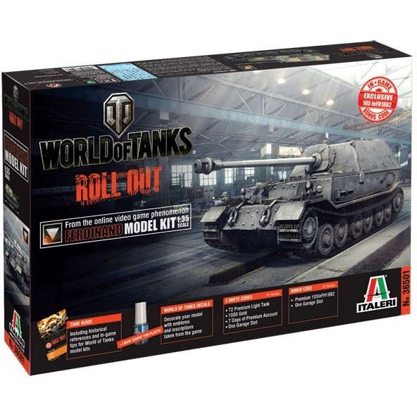 ITALERI World of Tanks Ferdinand (36501)
