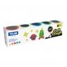 Milan, ciastolina Neon, 5 kolorów x 142 g (913505N)
