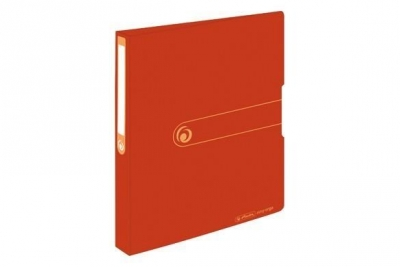 Segregator A4 PP 4R 1,6cm pomarańczowy Easy