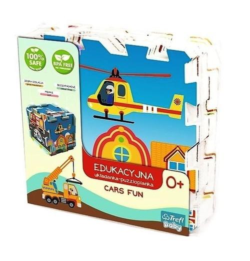 Edukacyjna układanka puzzlopianka Cars Fun (60754)