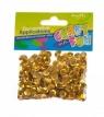 Cekiny metaliczne kółka 8mm złote