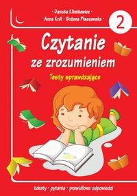 Czytanie ze zrozumieniem Klimkiewicz Danuta, Król Anna, Płaszewska Bożena