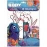 Gdzie jest Dory. Kolorowanka + naklejki 3D praca zbiorowa