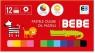 Pastele olejne BB Kids, 12 kolorów (394284)
