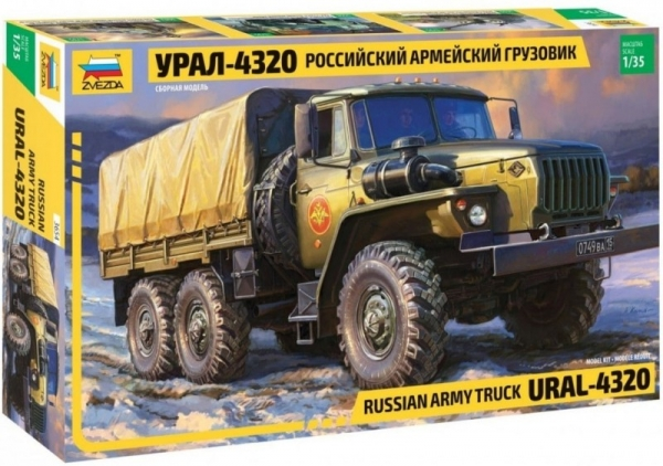 Ural 4320 Russian Army Truck (3654)