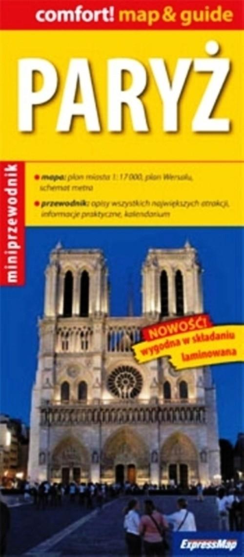 Paryż map & guide