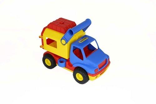 ConsTruck - dostawczy samochód w siatce