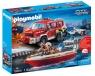 Samochód strażacki z łodzią strażacką (70054)