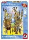Puzzle Colin Thompson  Zamek w powietrzu 1000