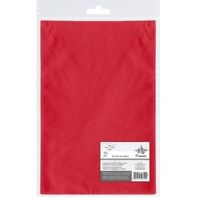 Filc A3, 5 arkuszy - czerwony (442197)