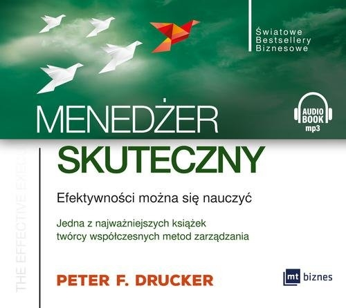 Menedżer skuteczny  (Audiobook) (Audiobook) Drucker Peter