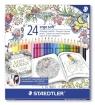 Kredki ołówkowe Ergo soft 24 kolory (S 157 C24 JB)
