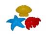 Foremki krab Nr2 + rozgwiazda Nr2 + muszla Nr2