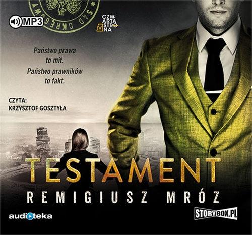 Testament (Audiobook) (Audiobook) Mróz Remigiusz
