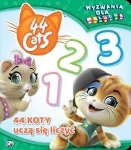44 koty. Wyzwania dla malucha. Uczą się liczyć praca zbiorowa
