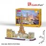 Puzzle 3D: Cityline - Paryż (MC254H)Wiek: 8+