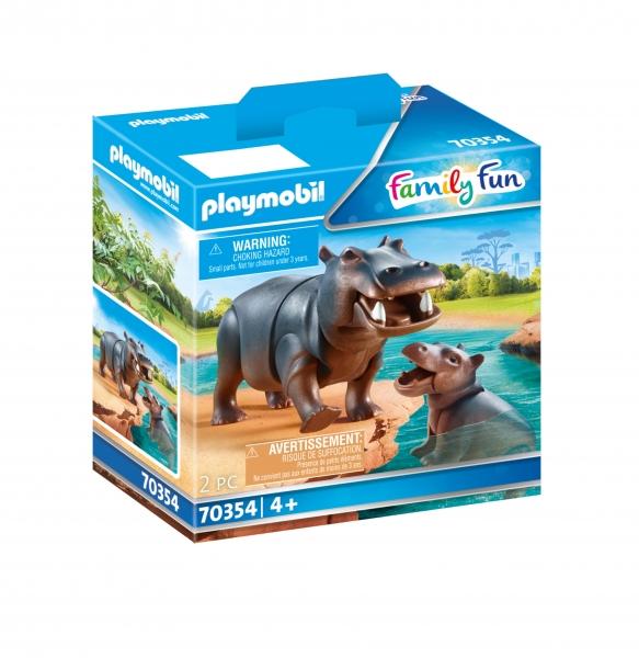 Playmobil Family Fun: Hipopotamy (70354)