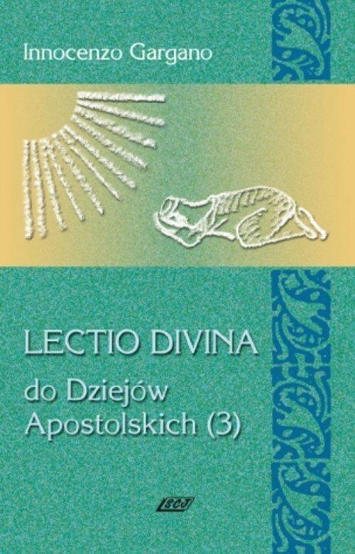 Lectio Divina 12 Do Dziejów Apostolskich Gargano Innocenzo