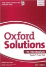 Oxford Solutions Pre-Intermediate Teacher's PP Tim Falla i Paul A. Davies, Joanna Sobierska