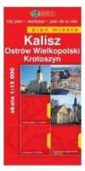 Kalisz, Ostrów Wielkopolski Krotoszyn. Plan miasta