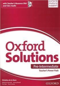 Oxford Solutions Pre-Intermediate Teacher's PP Tim Falla i Paul A. Davies, Joanna Sobierska