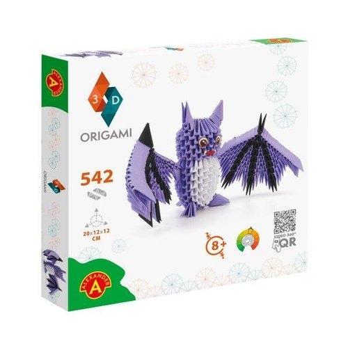Origami 3D Nietoperz