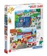 Puzzle SuperColor 2x60: Rescue Heroes (21602)