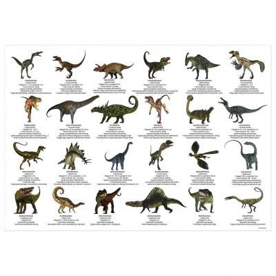 Podkład na biurko - dinozaury (DRF-69545)