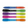 Długopis Sway Combi Duo fioletowo-jasnozielony