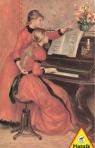 Puzzle Piatnik Renoir, Lekcja gry na pianinie 1000