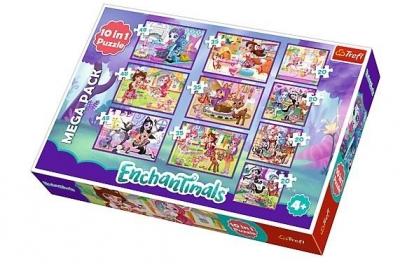 Puzzle 10w1: Przygody Enchantimals (90354)