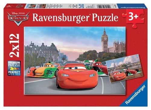 Puzzle Zygzak McQueen i przyjaciele 2x12 (075546)