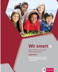 Wir smart 4 (klasa VII). Smartbuch + kod dostępu do podręcznika i ćwiczeń interaktywnych [Nowe wydanie 2020] praca zbiorowa